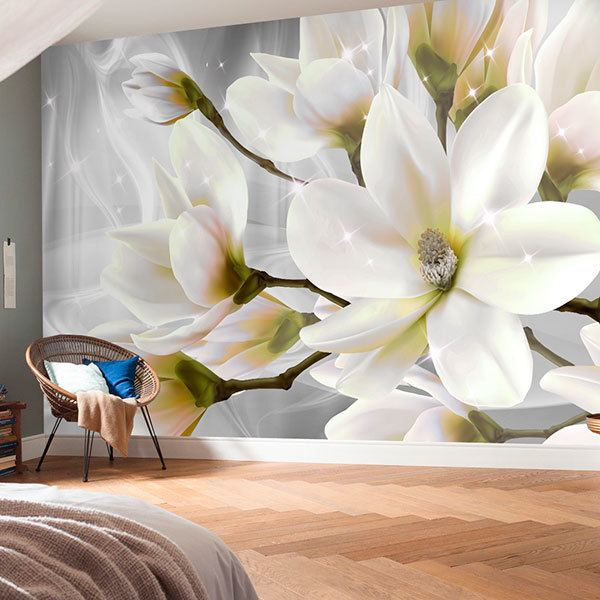 Wall Murals: Beautiful bright bouquet