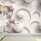 Wall Murals: Floral Collage 2