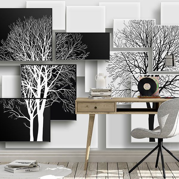 Wall Murals: Tree Puzzle