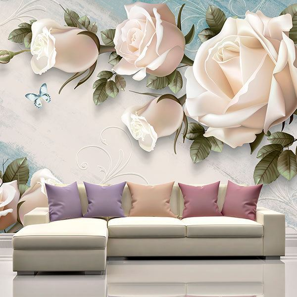 Wall Murals: The Elfe Rose