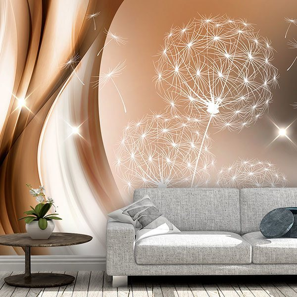 Wall Murals: Luminous dandelion 0