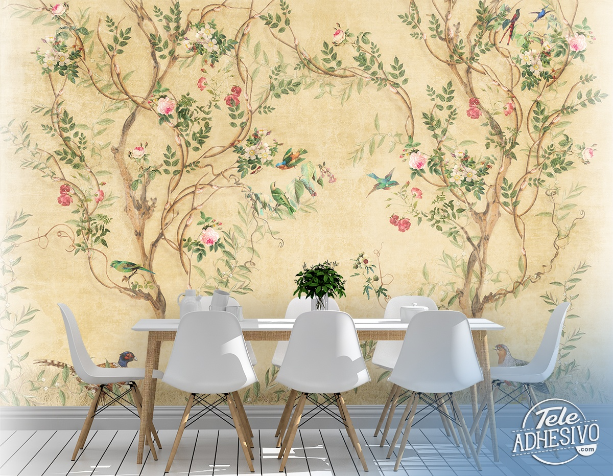 Wall Murals: Living Nature