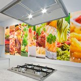 Wall Murals: Food collage 2