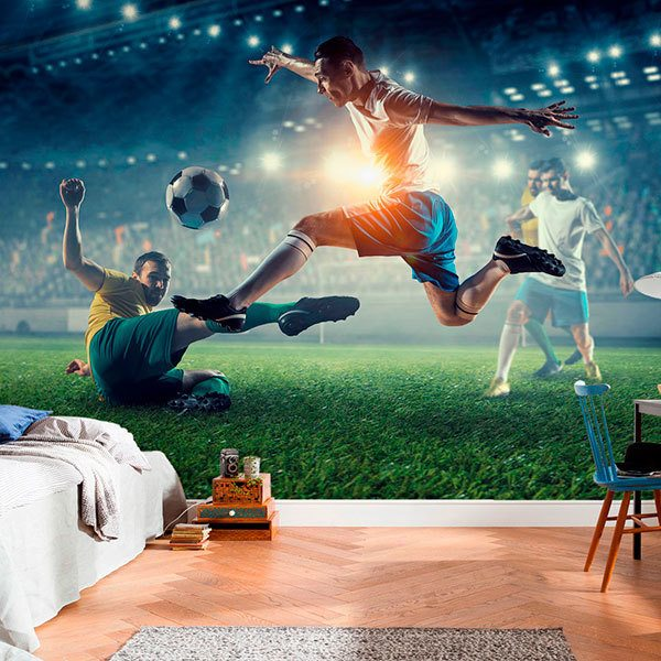 Wall Murals: Football is passion 0