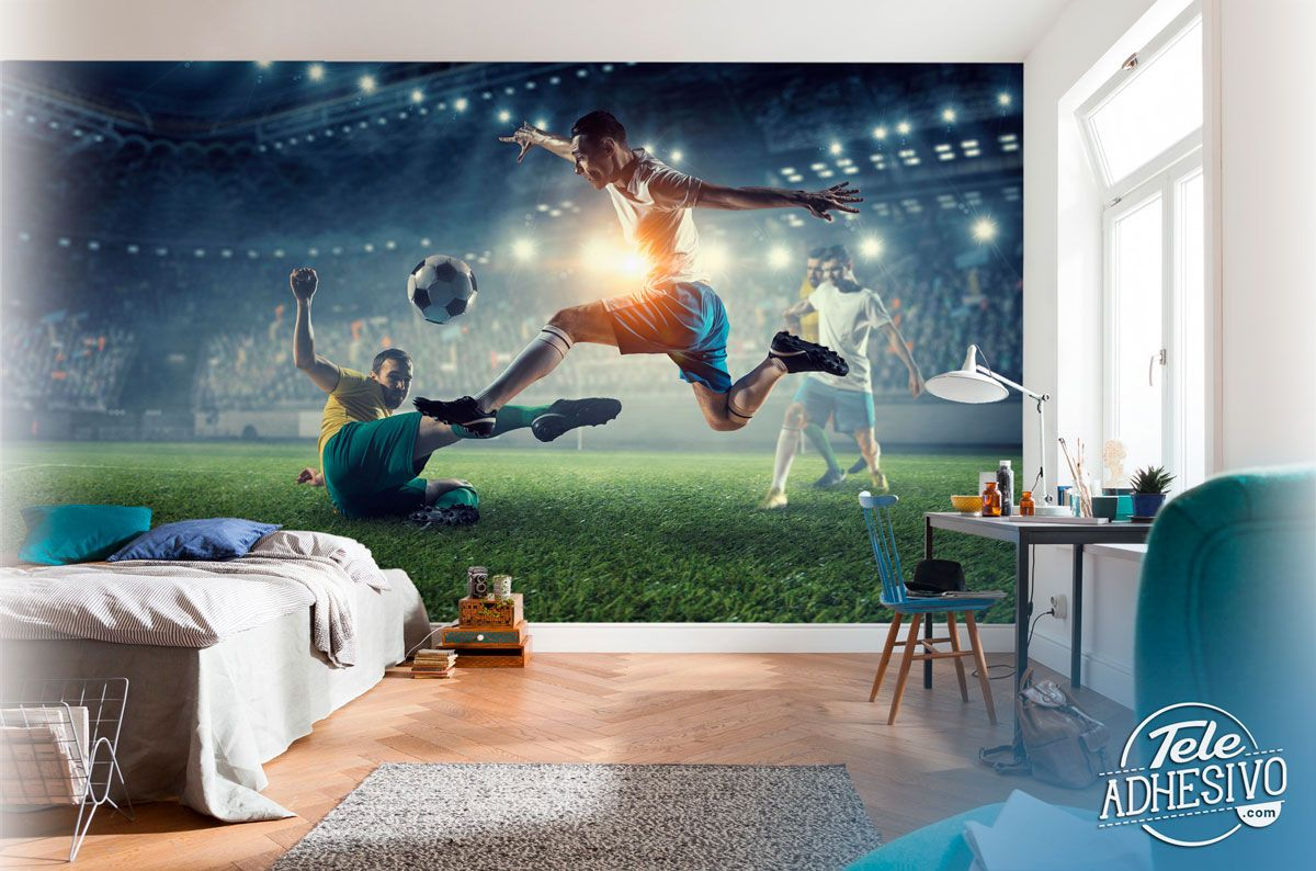 Wall Murals: Football is passion