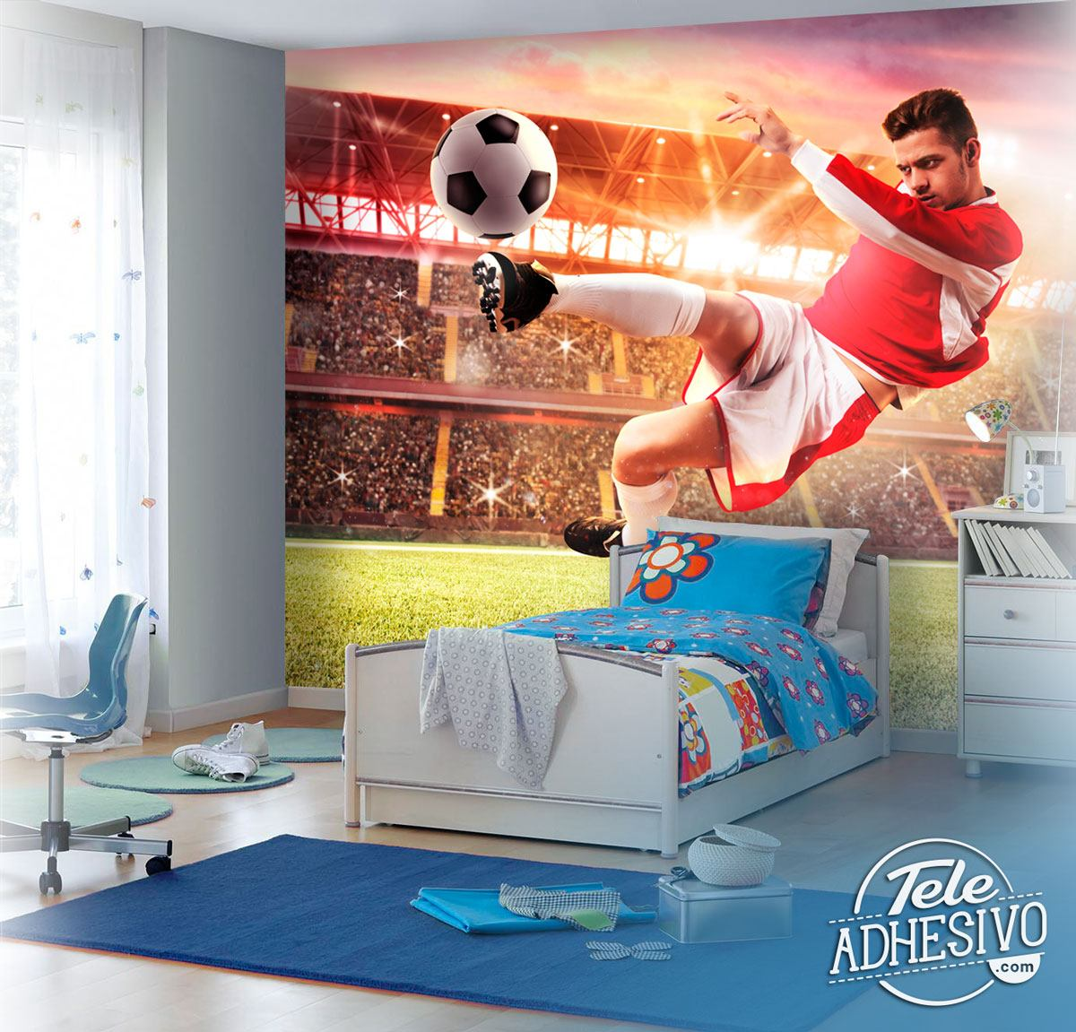 Wall Murals: Spectacular finish