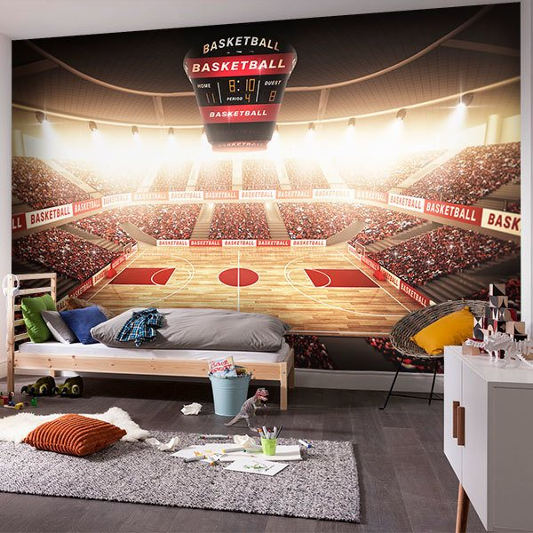 Wall Murals: Let the game begin 0