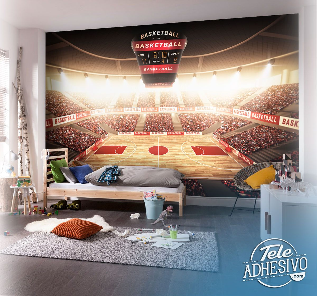 Wall Murals: Let the game begin