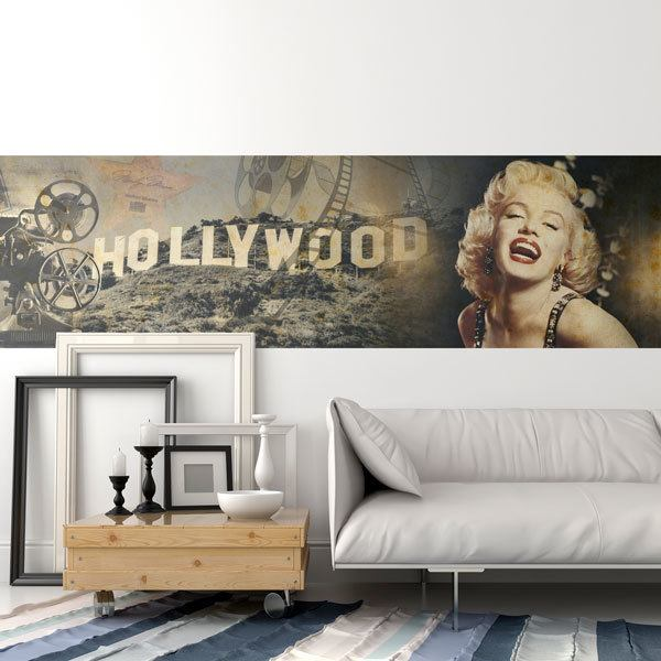 Wall Murals: Hollywood and Marilyn
