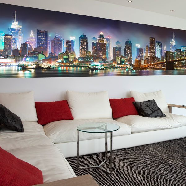 Wall Murals: Night Skyline