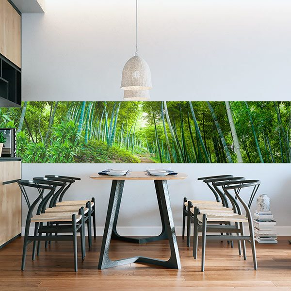 Wall Murals: Bamboo trail