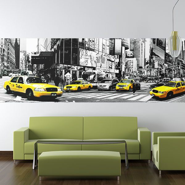 Wall Murals: Taxis in New York