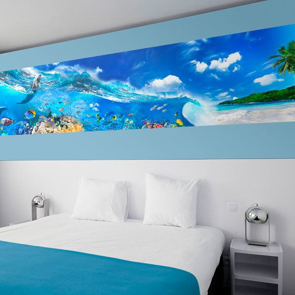 Wall Murals: Animals on the beach