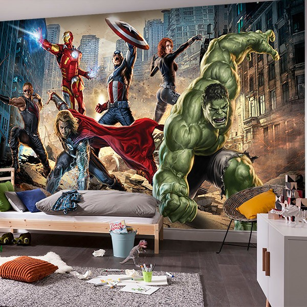 Wall Murals: United Avengers