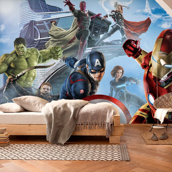 Wall Murals: Avengers I am Iron Man