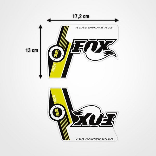 Car & Motorbike Stickers: Fox Racing Shox Bicycle Fork Kit