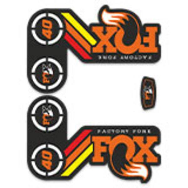 Car & Motorbike Stickers: Fox Factory Fork Fork Kit 40