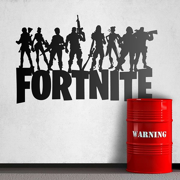 Wall Stickers: Fortnite Battle Royale