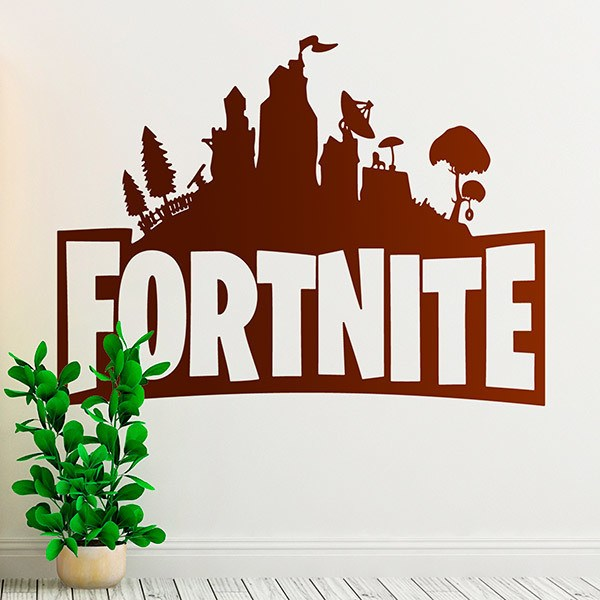 Wall Stickers: Shelter Fortnite
