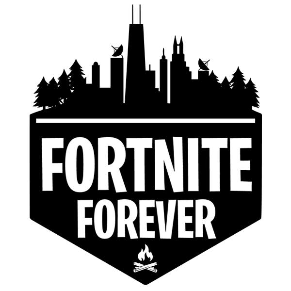 Wall Stickers: Fortnite Forever