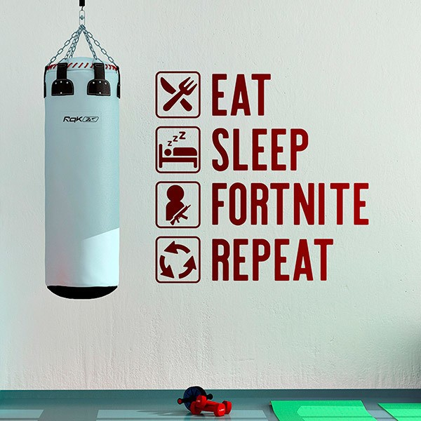 Wall Stickers: Routine Fortnite, in english