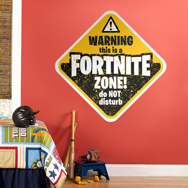 Wall Stickers: Fortnite zone!