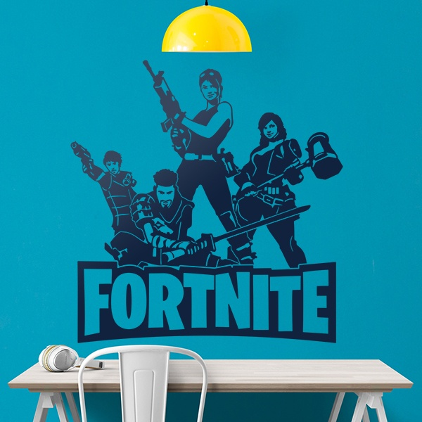 Wall Stickers: Fortnite Squadron