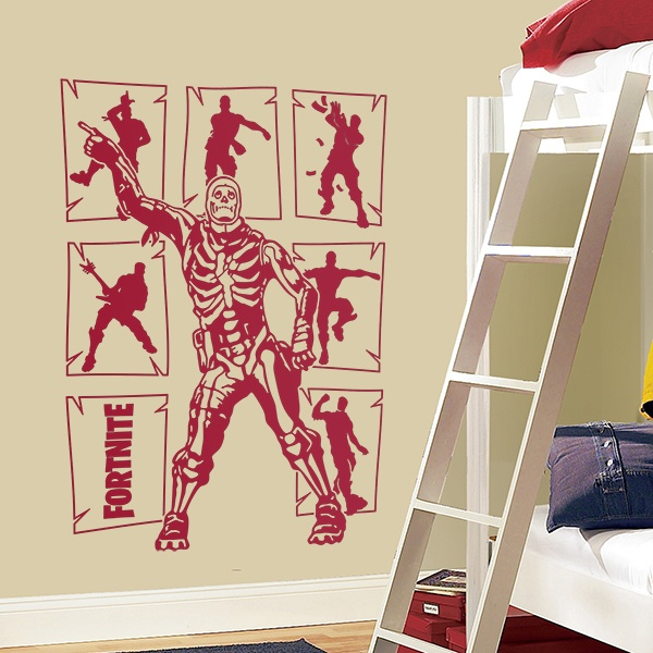 Wall Stickers: Fortnite Skeleton dancing