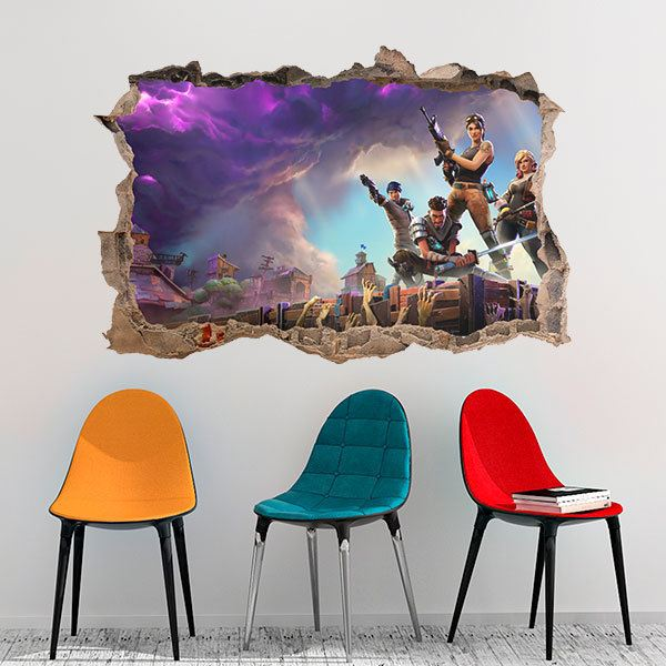 Wall Stickers: Fortnite equipment