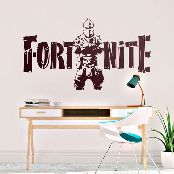 Wall Stickers: Fortnite Warrior