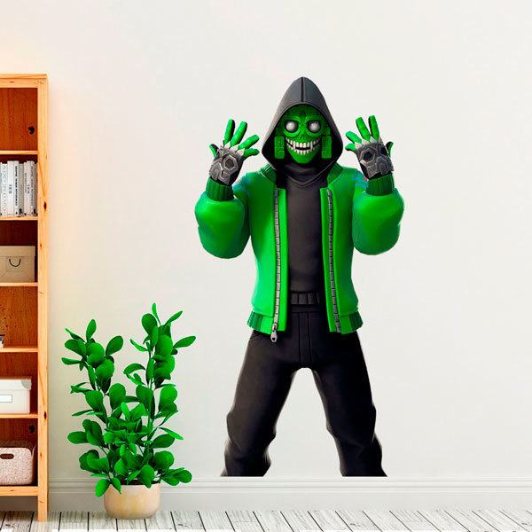 Wall Stickers: Green Warrior