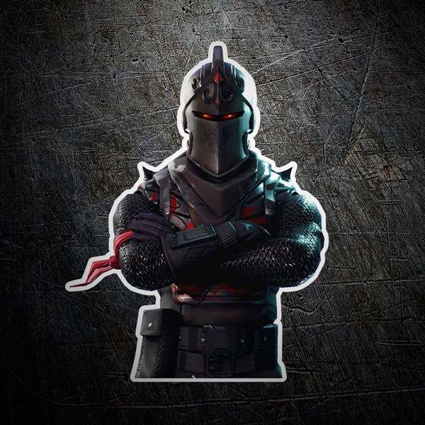 Wall Stickers: Skin Fortnite armored warrior
