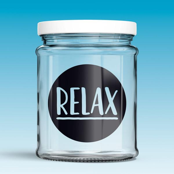 Wall Stickers: Relax