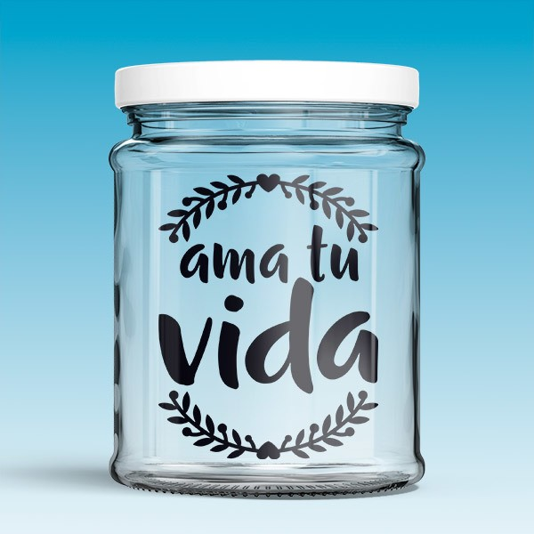 Wall Stickers: Ama tu vida