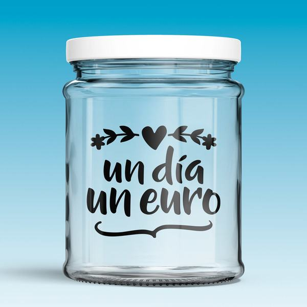 Wall Stickers: One day, one euro