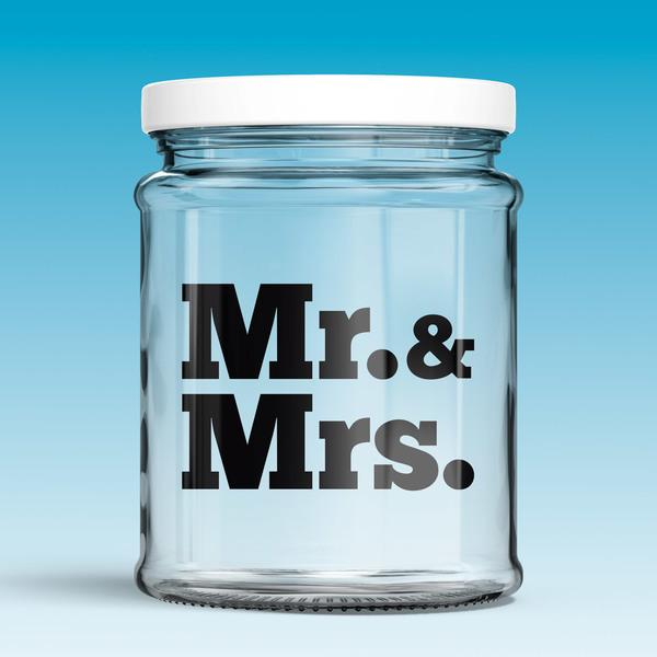 Wall Stickers: Mr. & Mrs.