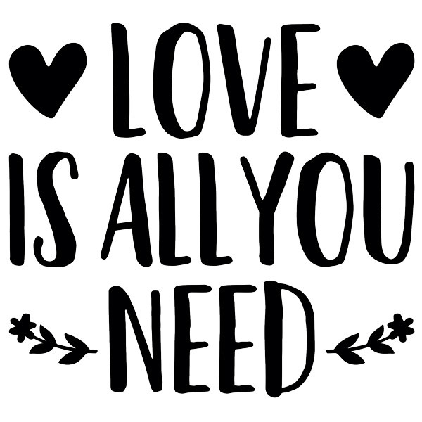 Wall Stickers: Love is all you need