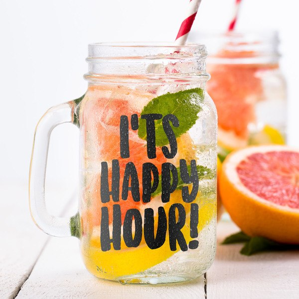 Wall Stickers: It's happy hour
