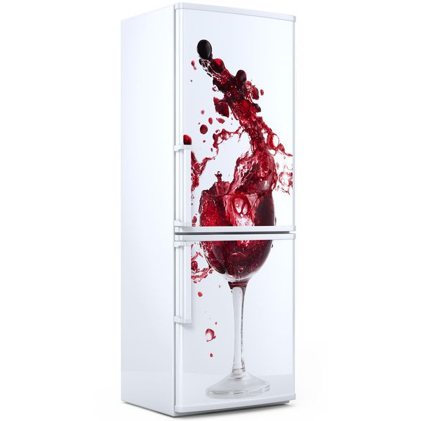 Wall Stickers: Glass of wine