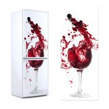 Wall Stickers: Glass of red wine 3