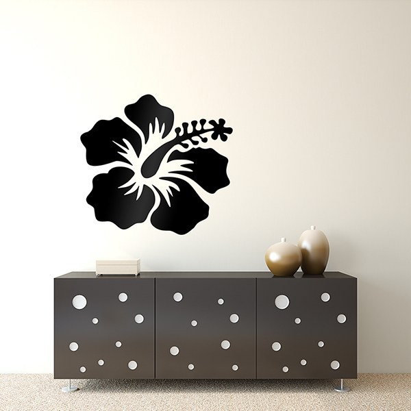 Wall Stickers: Hibiscus flower