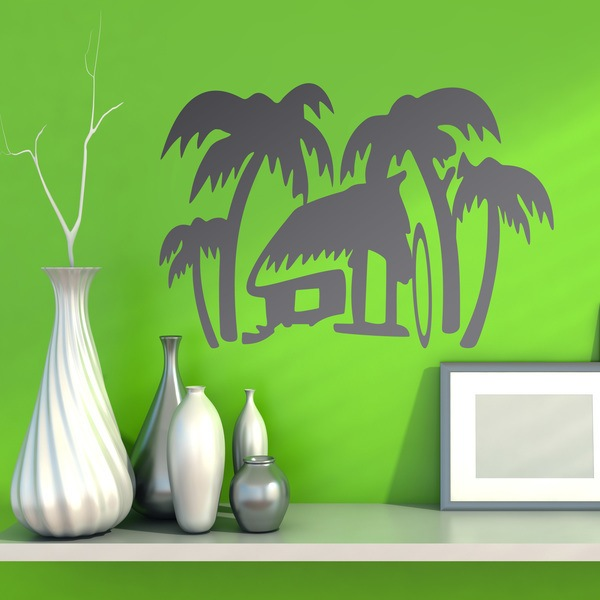 Wall Stickers: Surf House