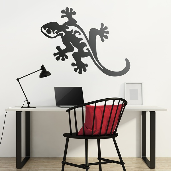 Wall Stickers: Tribal lizard or gecko