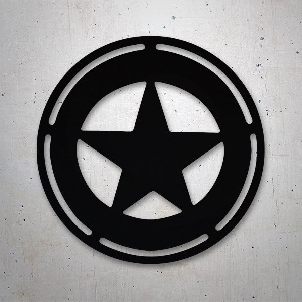 Car & Motorbike Stickers: Sheriff Star
