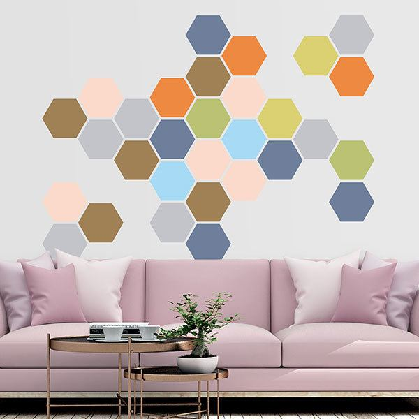 Wall Stickers: Eden Geometric kit