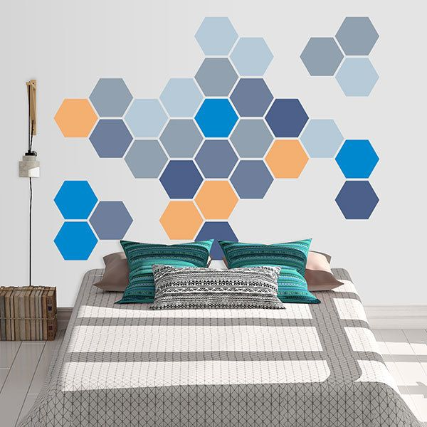 Wall Stickers: Avalon Geometric kit