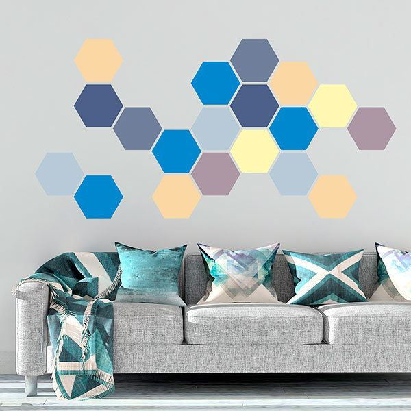 Wall Stickers: Arcadia Geometric kit