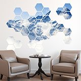 Wall Stickers: Everest Geometric kit 3