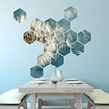 Wall Stickers: Dandelion Geometric kit 3