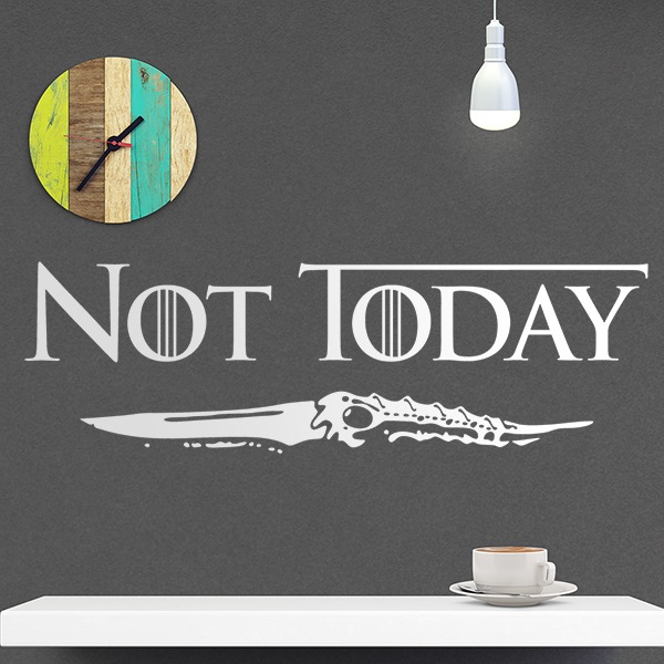 Wall Stickers: Not Today